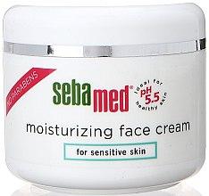 Parfumuri și produse cosmetice Cremă hidratantă - Sebamed Moisturing Face Cream Sensitive Skin