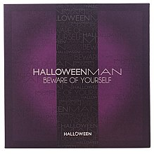 Parfumuri și produse cosmetice Jesus Del Pozo Halloween Man Beware of Yourself - Set (edt/125ml + sh/gel/100ml + bracelet)