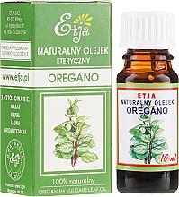 Parfumuri și produse cosmetice Ulei esențial de oregano - Etja Natural Origanum Vulgare Leaf Oil