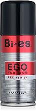 Parfumuri și produse cosmetice Deodorant spray - Bi-es Ego Red Edition