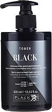 Parfumuri și produse cosmetice Tonic pentru păr - Black Professional Line Semi-Permanent Coloring Toner (Yellow Stop)