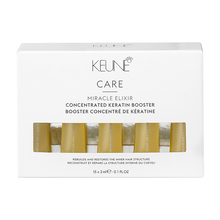 Кератиновый бустер для волос - Keune Care Miracle Elixir Concentrated Keratin Booster — фото N1