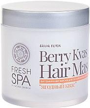 Parfumuri și produse cosmetice Mască cu vitamine pentru părul slăbit - Natura Siberica Fresh Spa Russkaja Bania Detox Berry Kvas Hair Mask