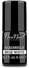 Parfumuri și produse cosmetice Bază albă pentru gel-lac - NeoNail Professional Aquarelle Base White