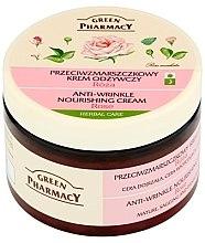 "Parfumuri și produse cosmetice Cremă de față ""Rose"" - Green Pharmacy Anti-Wrinkle Vanishing Cream"