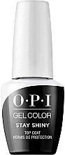 Parfumuri și produse cosmetice Zabezpieczający top coat - O.P.I. Gel Stay Shiny Top Coat