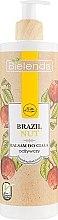 """Parfumuri și produse cosmetice Balsam de corp """"Nuci de Brazilia"""" - Bielenda Brazil Nut Balsam"""