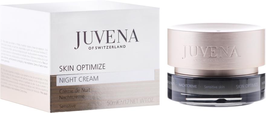 Cremă de noapte pentru pielea sensibilă - Juvena Skin Optimize Night Cream Sensitive Skin — Imagine N1