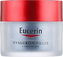 Духи, Парфюмерия, косметика Ночной крем для лица - Eucerin Hyaluron-Filler+Volume-Lift Night Cream