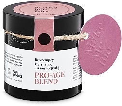 Parfumuri și produse cosmetice Омолаживающий ночной крем для зрелой кожи - Make Me BIO Anti-Aging Night