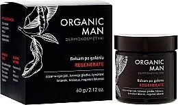 Parfumuri și produse cosmetice Balsam regenerant după ras - Organic Life Dermocosmetics Man