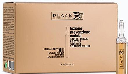 Loțiune cu pantenol și placentă împotriva căderii părului - Black Professional Line Panthenol & Placenta Lotion