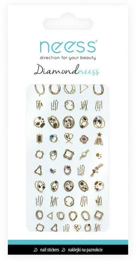 Nail Art Stickers, 3713 - Neess Diamondneess — Imagine N1