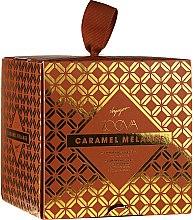 Parfumuri și produse cosmetice Set - Zoeva Caramel Melange Voyager (eyeshadow/palette/6x0.9g + brush/1pc)