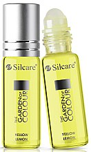 Духи, Парфюмерия, косметика Масло для ногтей и кутикулы - Silcare The Garden of Colour Cuticle Oil Roll On Lemon Yellow