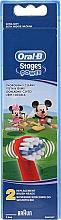Parfumuri și produse cosmetice Rezerve pentru periuța de dinți pentru copii EB10, Mickey - Oral-B Stages Power Disney