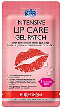 Parfumuri și produse cosmetice Patch-uri de hidrogel pentru buze - Purederm Intensive Lip Care Gel Patch