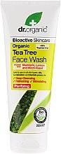 Parfumuri și produse cosmetice Gel de curățare pentru față - Dr. Organic Tea Tree Face Wash