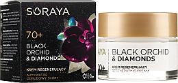 Parfumuri și produse cosmetice Cremă regeneratoare pentru față - Soraya Black Orchid & Diamonds 70+ Regenerating Cream