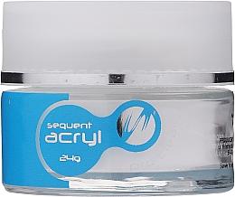 Parfumuri și produse cosmetice Pudră acrilică pentru unghii, 24 g - Silcare Sequent Acryl Pro