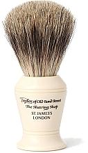 Parfumuri și produse cosmetice Pămătuf de ras, P375 - Taylor of Old Bond Street Shaving Brush Pure Badger size M