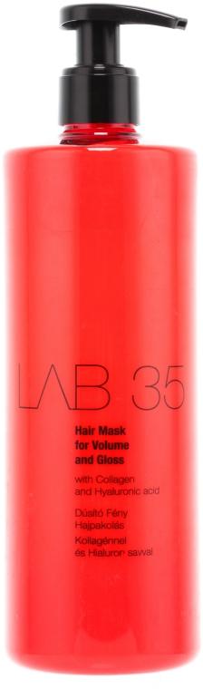 Mască de păr pentru volum și strălucire - Kallos Cosmetics Lab35 Mask