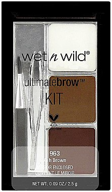 Set pentru sprâncene - Wet N Wild Ultimate Brow Kit