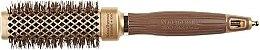 Parfumuri și produse cosmetice Perie rotundă pentru păr 30 mm - Olivia Garden Nano Thermic Ceramic + Ion Shaper 30