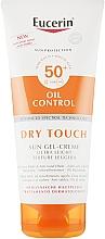 Parfumuri și produse cosmetice Gel-cremă de protecție solară matifiantă ultra-ușoară - Eucerin Oil Control Dry Touch Sun Gel-Cream SPF50+