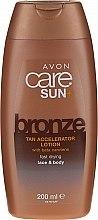 Parfumuri și produse cosmetice Balsam de corp cu beta-caroten - Avon Sun+ Bronze Tan Accelerator