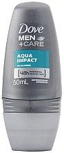 Parfumuri și produse cosmetice Antiperspirant roll-on pentru bărbați - Dove Aqua Impact 48h Deo Roll-On