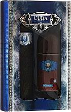 Parfumuri și produse cosmetice Cuba Blue - Set (edt/100ml + deo/50ml)