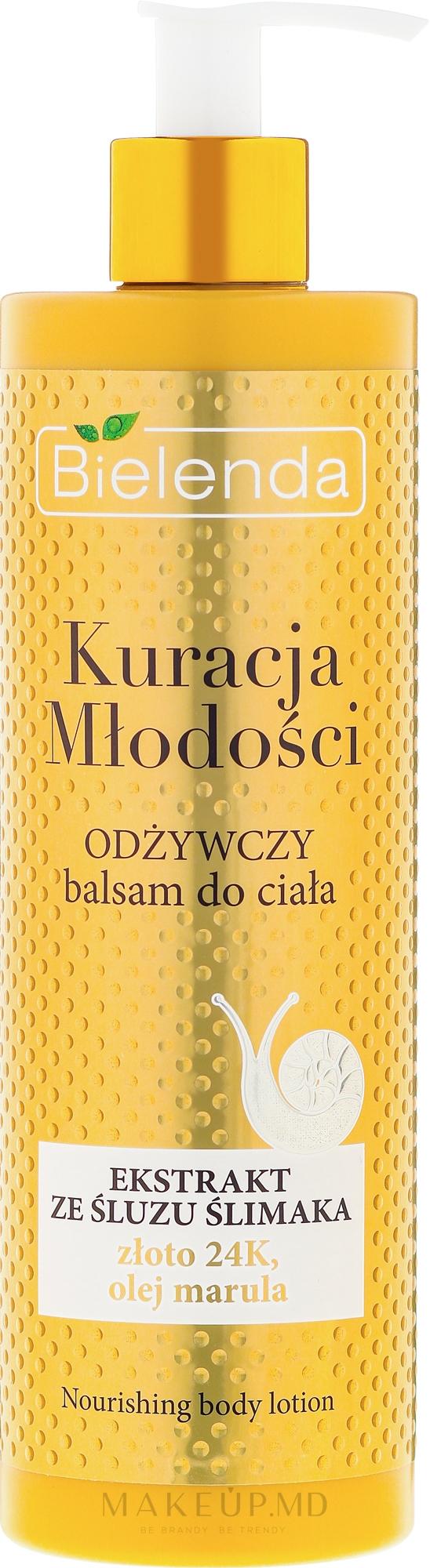 Лосьон для тела питательный - Bielenda Kuracja Mlodosci Nourishing Body Lotion — фото 400 ml