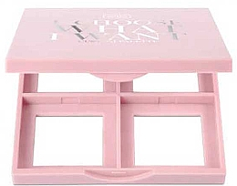 Parfumuri și produse cosmetice Paletă pentru farduri de ochi, mică - Wibo I Choose What I Want Small Empty Makeup Palette