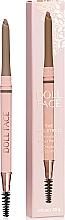 Parfumuri și produse cosmetice Creion pentru sprâncene - Doll Face The Sculptress Chiseled Brow Pencil