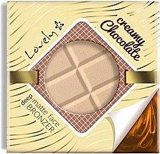 Parfumuri și produse cosmetice Pudră bronzantă pentru față - Lovely Creamy Chocolate Deep Matte Bronze