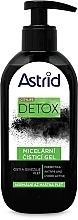 Parfumuri și produse cosmetice Gel de curățare pentru ten normal și gras - Astrid Citylife Detox