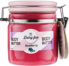 Parfumuri și produse cosmetice Unt de corp, cu afine - Delia Dairy Fun Body Butte