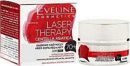 Parfumuri și produse cosmetice Cremă de față 70+ - Eveline Cosmetics Laser Therapy Centella Asiatica 70+