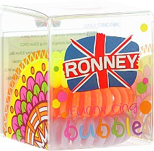 Parfumuri și produse cosmetice Elastic de păr, 3,5 cm - Ronney Professional S4 MAT
