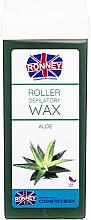 """Parfumuri și produse cosmetice Ceară depilatoare, cartuș """"Aloe"""" - Ronney Wax Cartridge Aloe"""