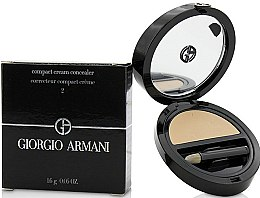 Parfumuri și produse cosmetice Concealer de față - Giorgio Armani Compact Cream Concealer
