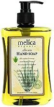 Parfumuri și produse cosmetice Săpun lichid cu extract de aloe - Melica Organic Aloe Vera Liquid Soap