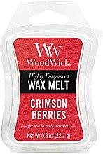 Parfumuri și produse cosmetice Ceară aromată - WoodWick Wax Melt Crimson Berries