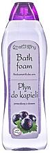"""Parfumuri și produse cosmetice Spumă de baie """"Coacăză"""" - Bluxcosmetics Naturaphy Blackcurrant & Aloe Vera Bath Foam"""