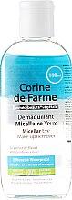 Parfumuri și produse cosmetice Soluţie demachiantă pentru ochi - Corine De Farme Micellar Eye Make-up Remover