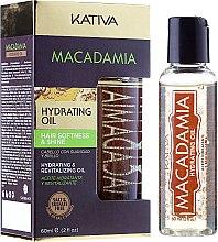 Parfumuri și produse cosmetice Ulei de hidratare și regenerare pentru părul normal și deteriorat - Kativa Macadamia Hydrating Oil