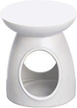 Parfumuri și produse cosmetice Lampă aromaterapie, albă - Bolsius Ceramic Classic Wax Melt Burner
