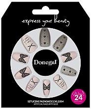 Parfumuri și produse cosmetice Unghii false, 3046 - Donegal