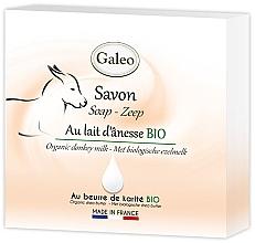 Parfumuri și produse cosmetice Săpun cu lapte de măgar - Galeo Soap Organic Donkey Milk